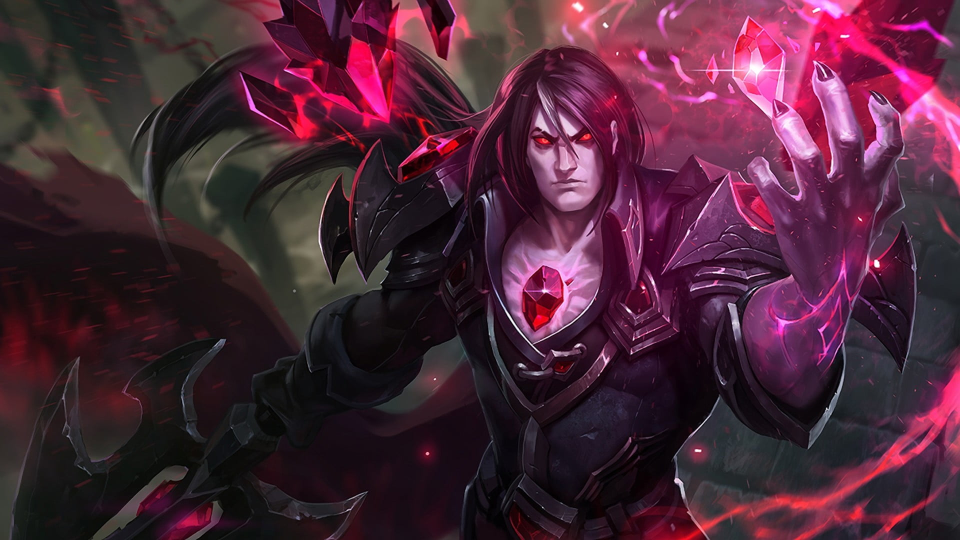 Vladimir LOL fan art League of Legends Taric HD wallpaper 1920x1080