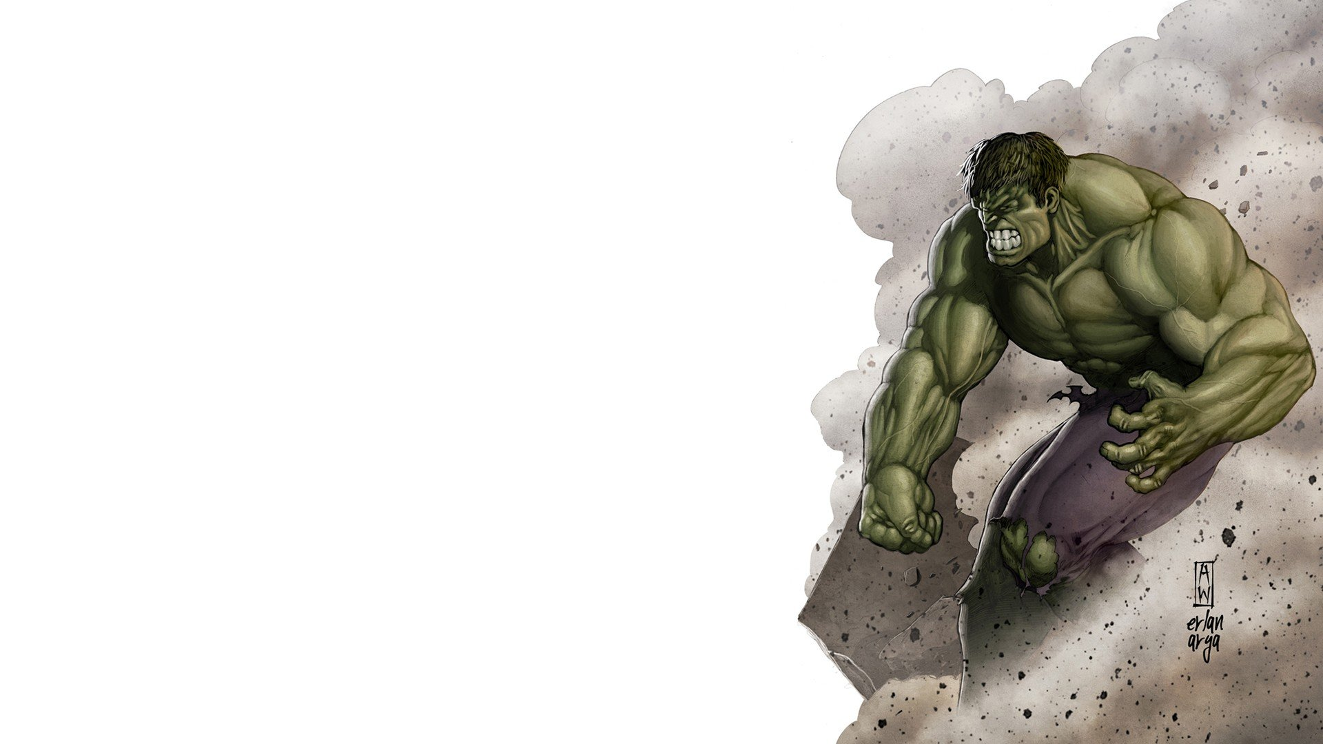 Hulk comic character Marvel Comics angry wallpaper 1920x1080 1920x1080