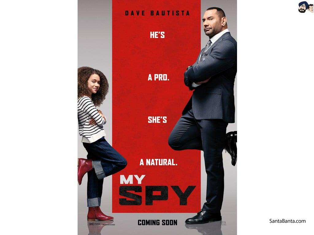 My Spy Movie Wallpaper 2 1024x768