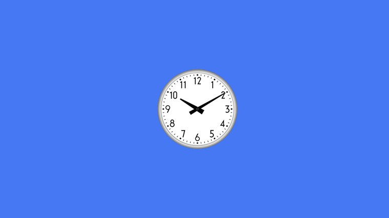 Digital clock 4 — цифровые часы для рабочего стола.