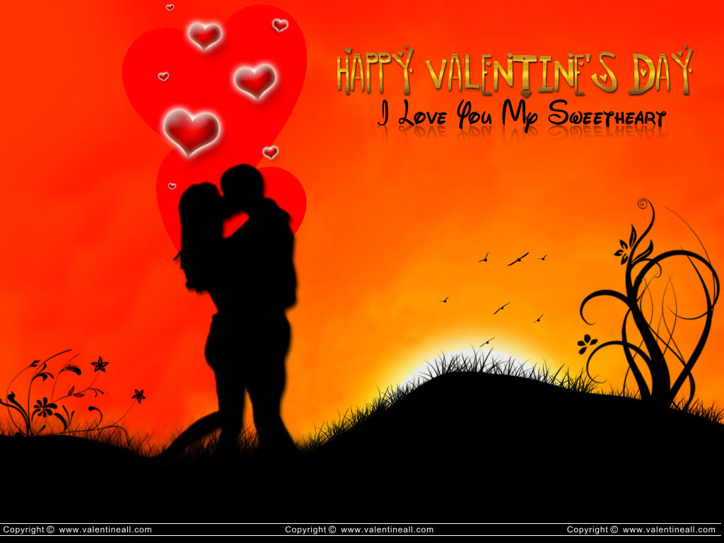 I Luv U My Sweetheart 834137   HD Wallpaper Download 1024x768
