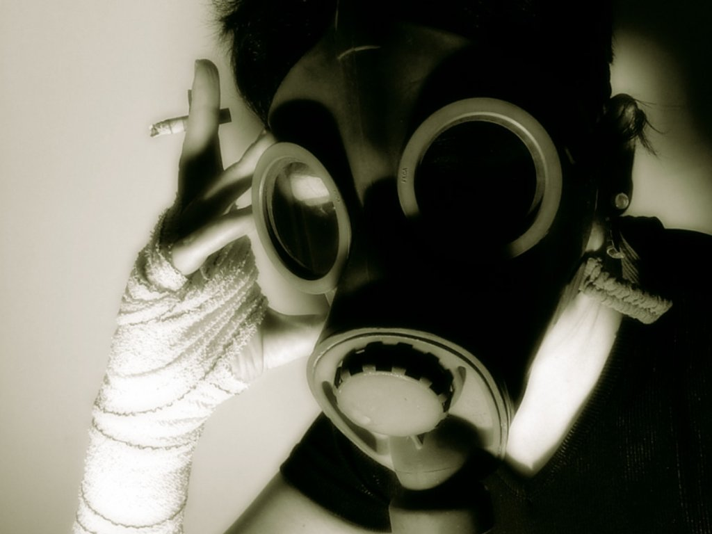 cool gas mask wallpapers wallpapersafari