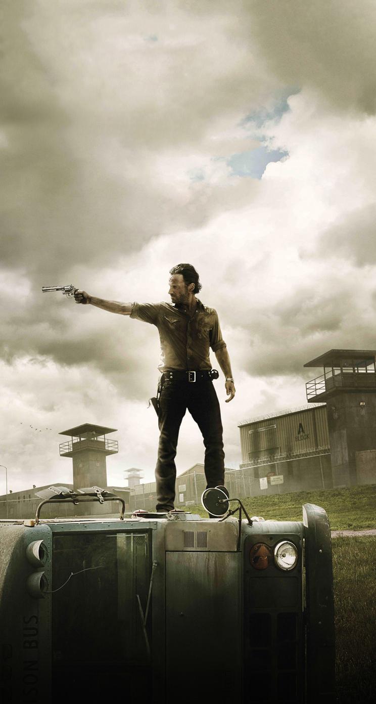 Free Download Walking Dead Iphone Wallpaper Hd Walking Dead Rick