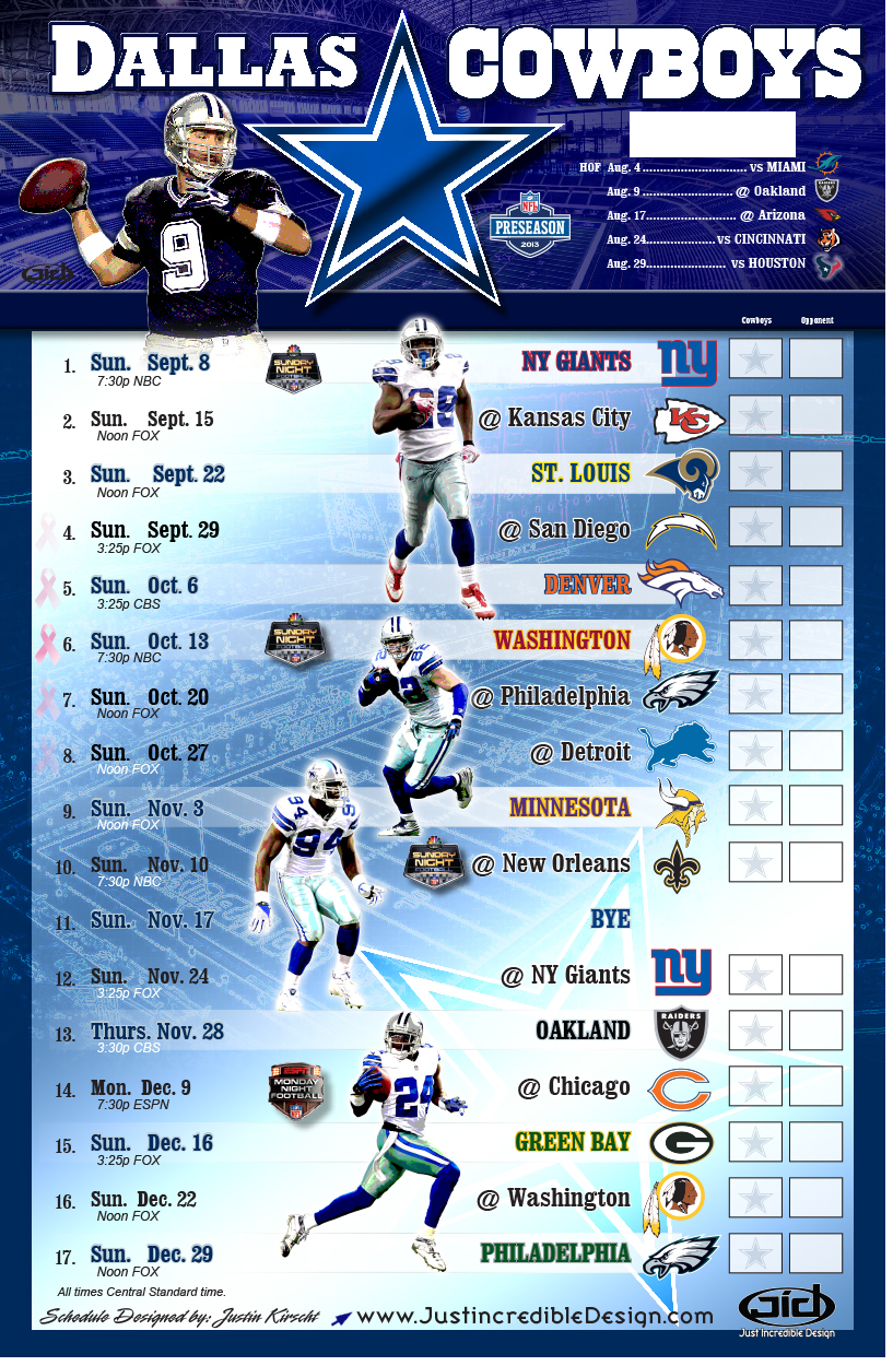 Dallas Cowboys 2014 Schedule Wallpaper Pictures 817x1250