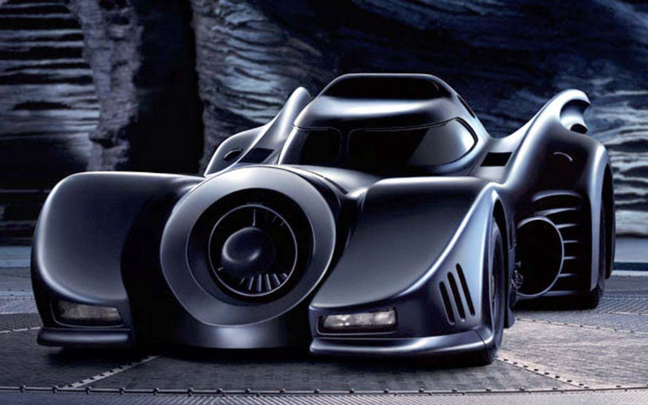 Wallpapers Backgrounds   Batmobile front wallpaper 1280x800