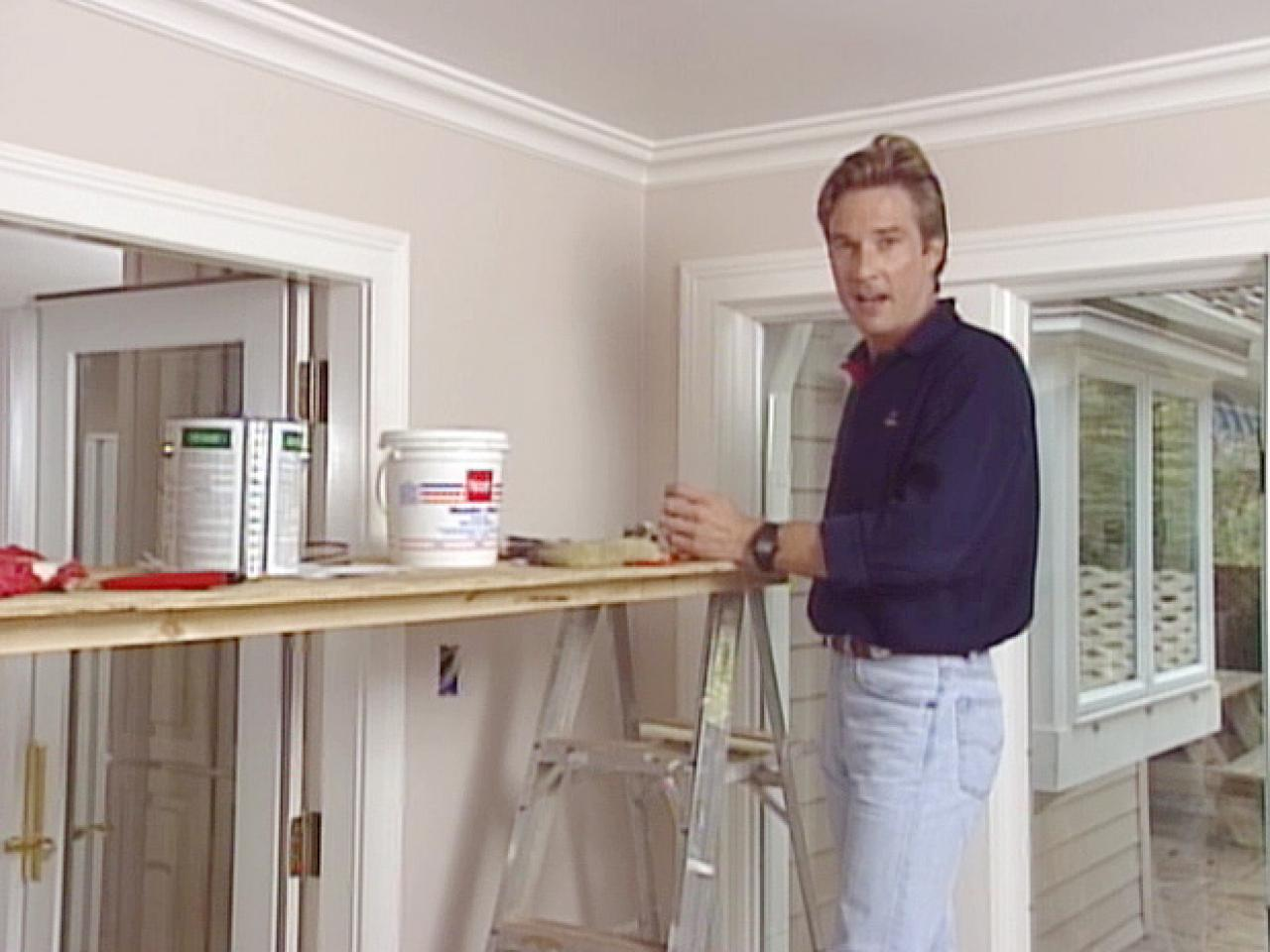 How to Apply an Embossed Wallpaper Ceiling Treatment how tos DIY 1280x960