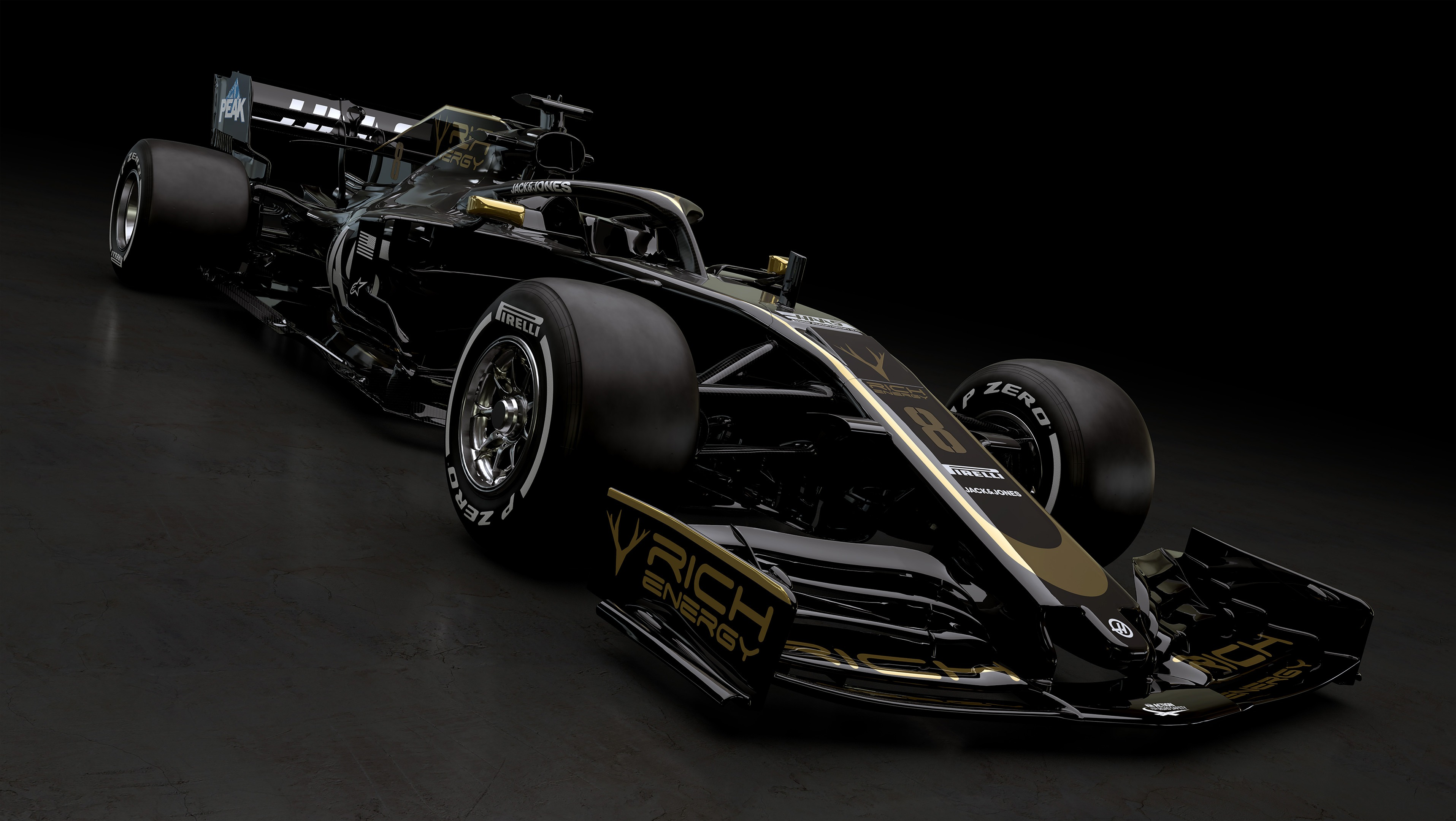 VF19 2019 RICH ENERGY HAAS F1 TEAM [FERRARI 16L V6 Turbo] 3830x2160