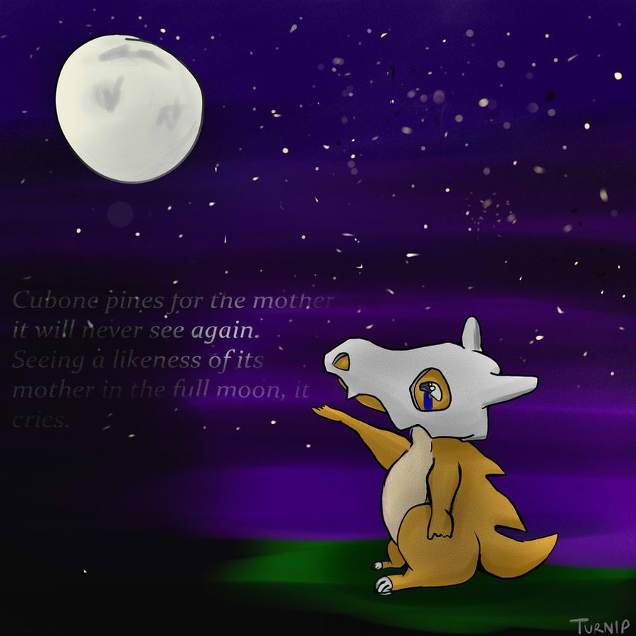 Cubone Wallpaper Purple Cubone 894x894
