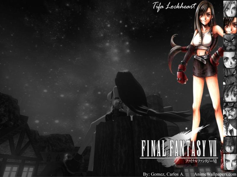 Final Fantasy VII Playstation Final Fantasy VII Tifa Video Games Final 800x600