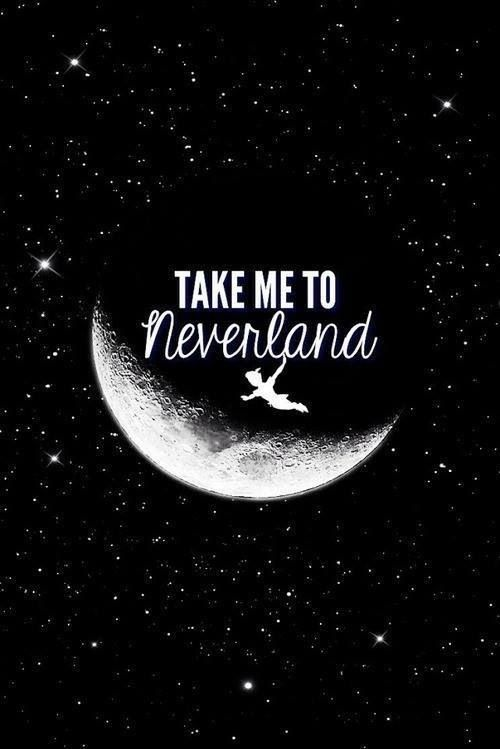 Iphone Wallpaper Neverland Quotes Wallpapers Peterpan Disney 500x749