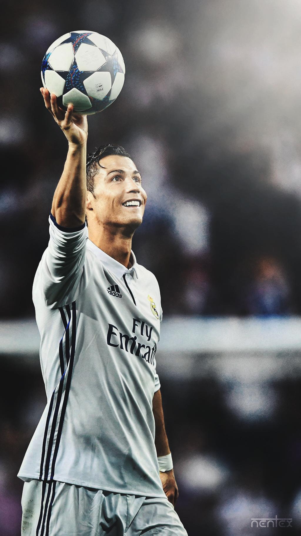 download Mobile Wallpaper Cristiano Ronaldo by enihal 1024x1821