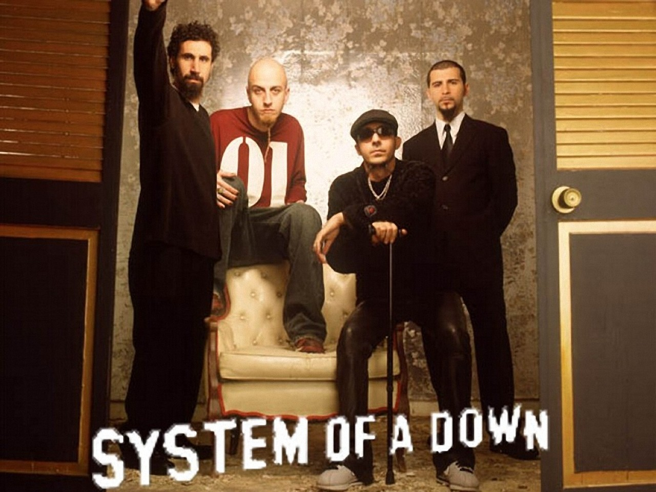 Metalpaper System of a Down Wallpapers 1280x960