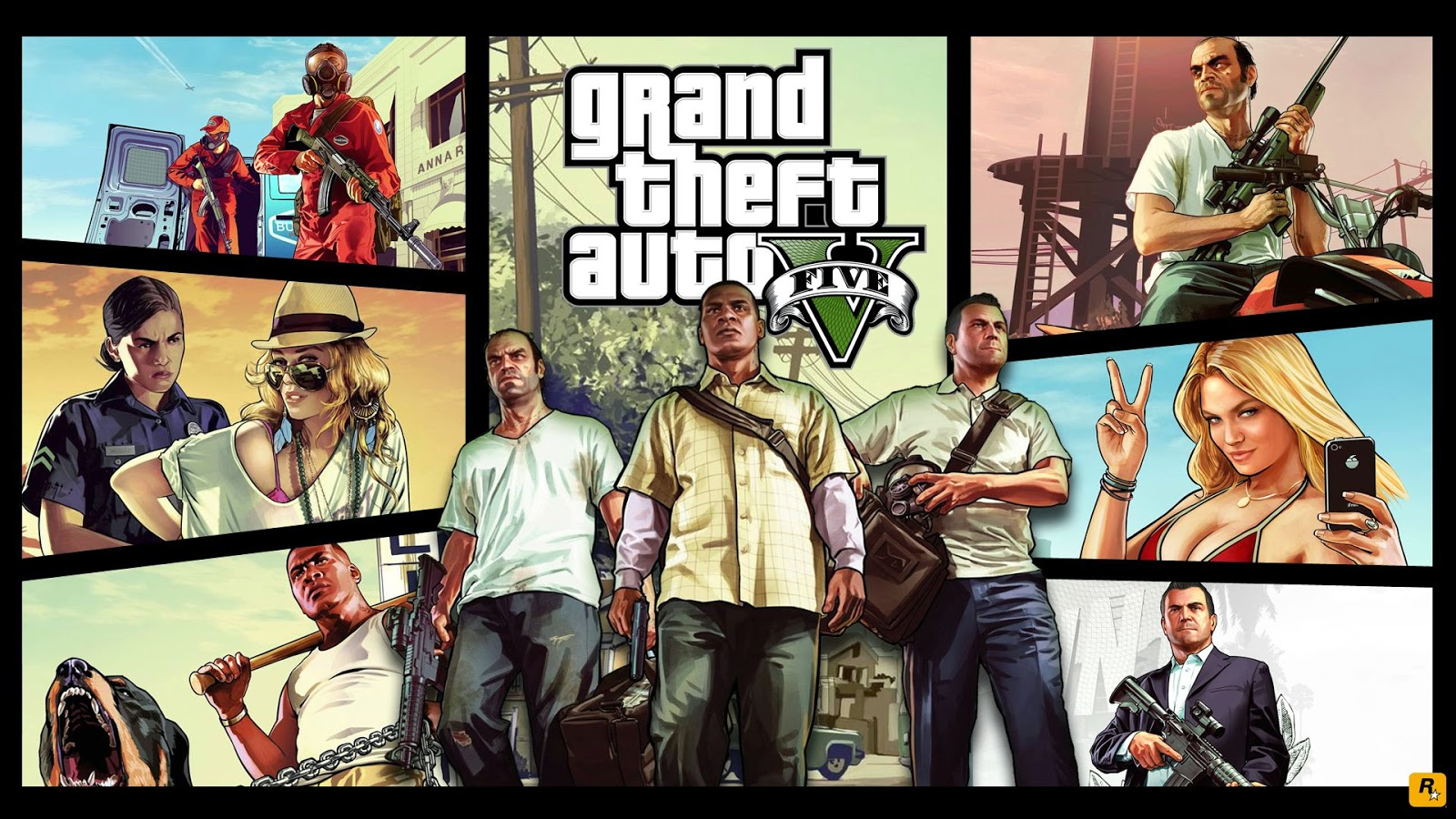 Download Grand Theft Auto GTA 5 Wallpapers HD wallpapers for freeNo 1600x900