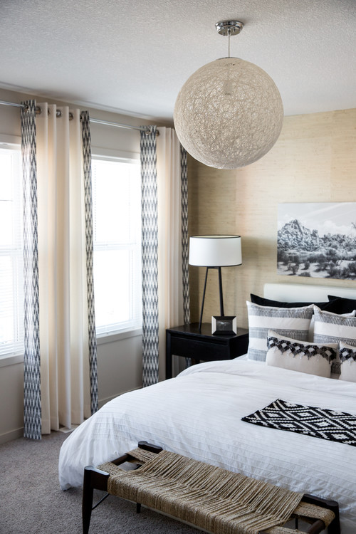 Grasscloth Wallpaper In Bedrooms 500x750