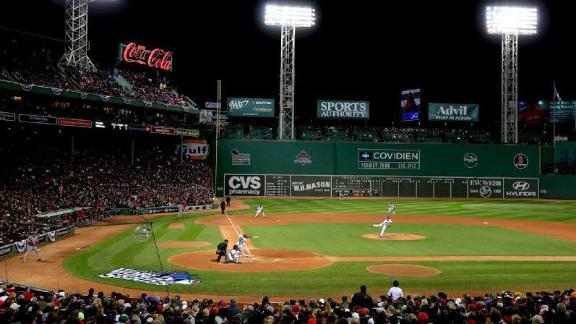 Green Monster when the Fighting Irish play Boston College at Fenway 576x324