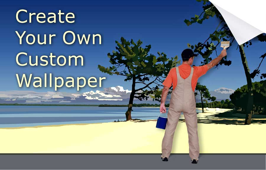 Customise Design Your Own Wallpaper 900x577