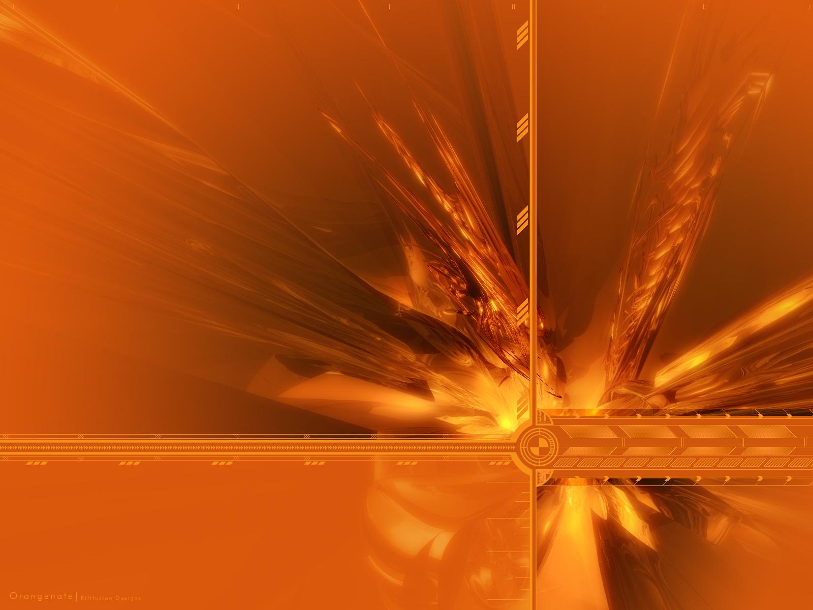 Abstract Orange Wallpaper 1600x1200 Abstract Orange 1600x1200