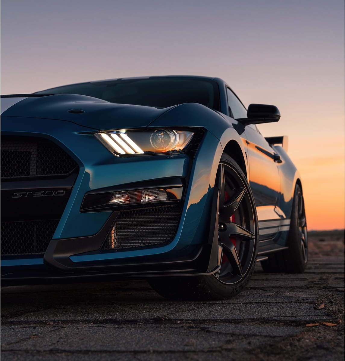 2020 Ford Mustang Shelby GT500 Headlight Wallpapers 90   NewCarCars 1145x1200