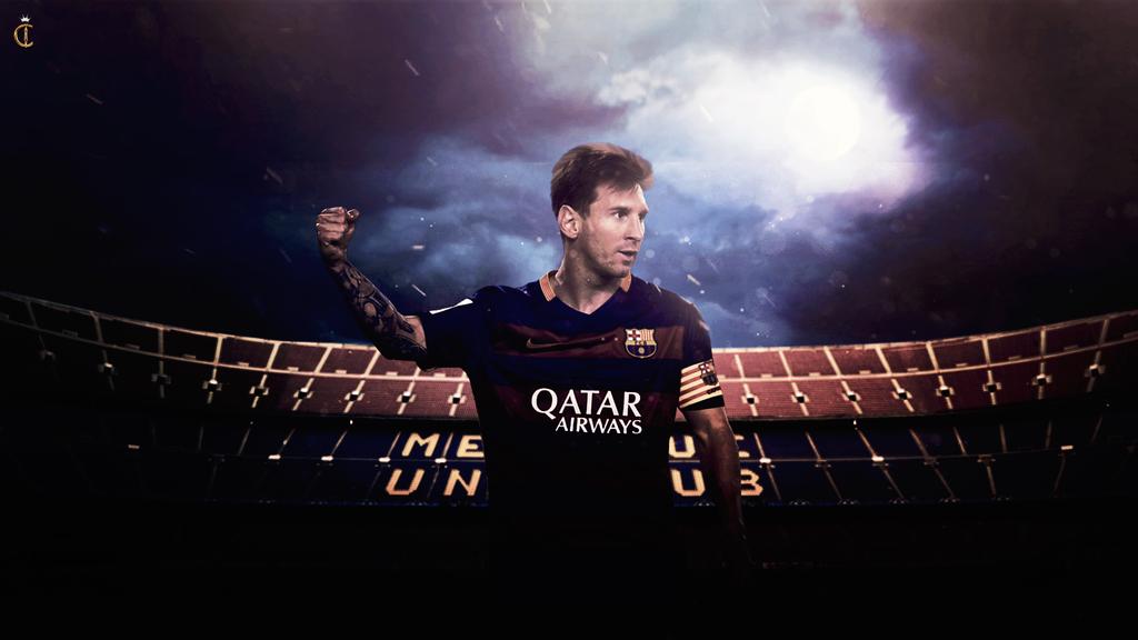 1024x576px Lionel Messi Wallpaper 2016