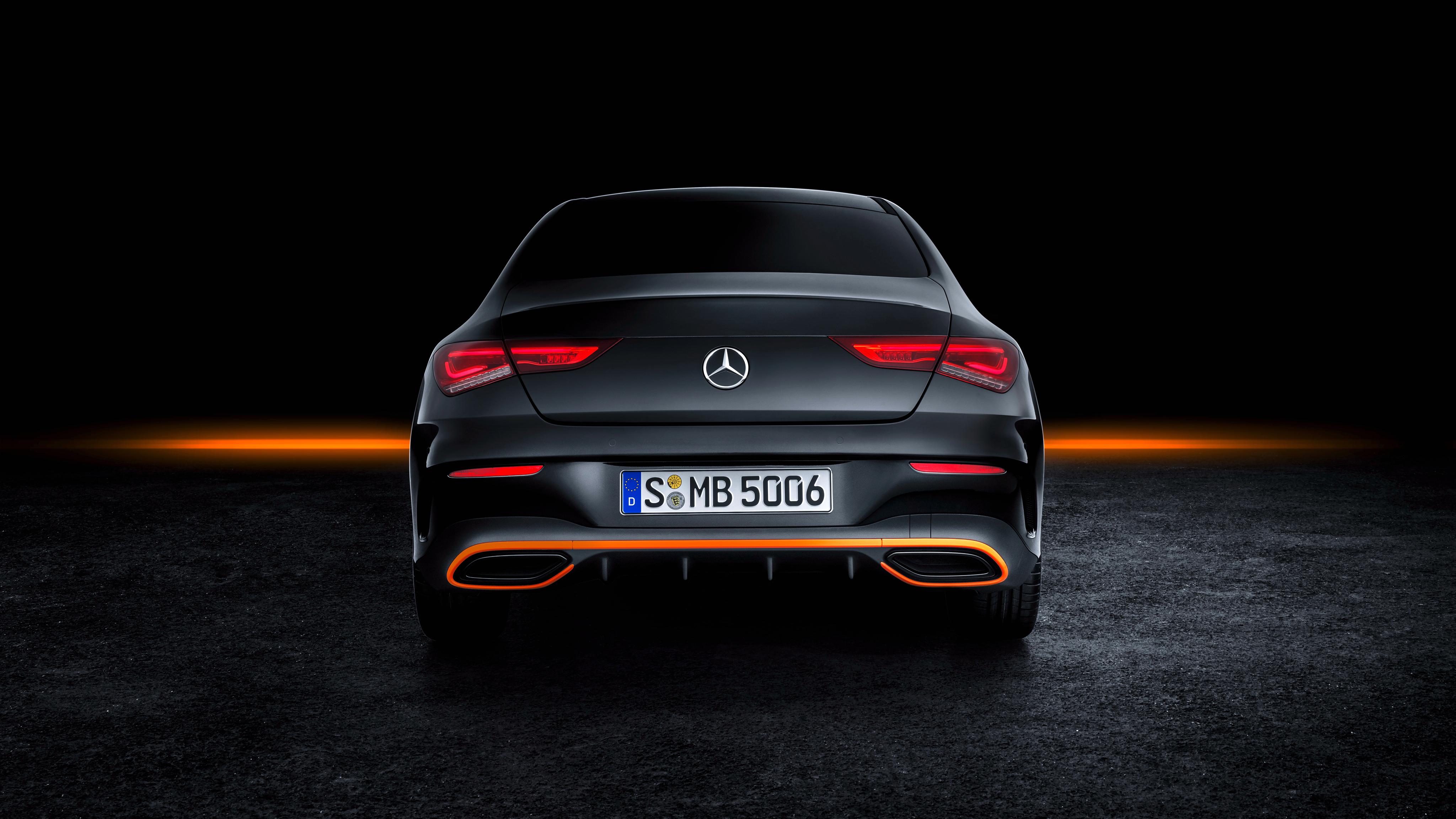 Mercedes benz Cla 250 Amg Line Edition Orange Art 2019   Mercedes 4096x2304