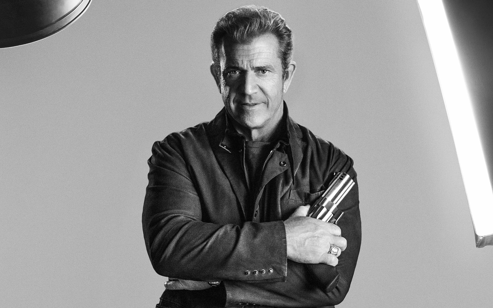 Mel Gibson as Conrad Stonebanks in The Expendables 3 widescreen 1920x1200