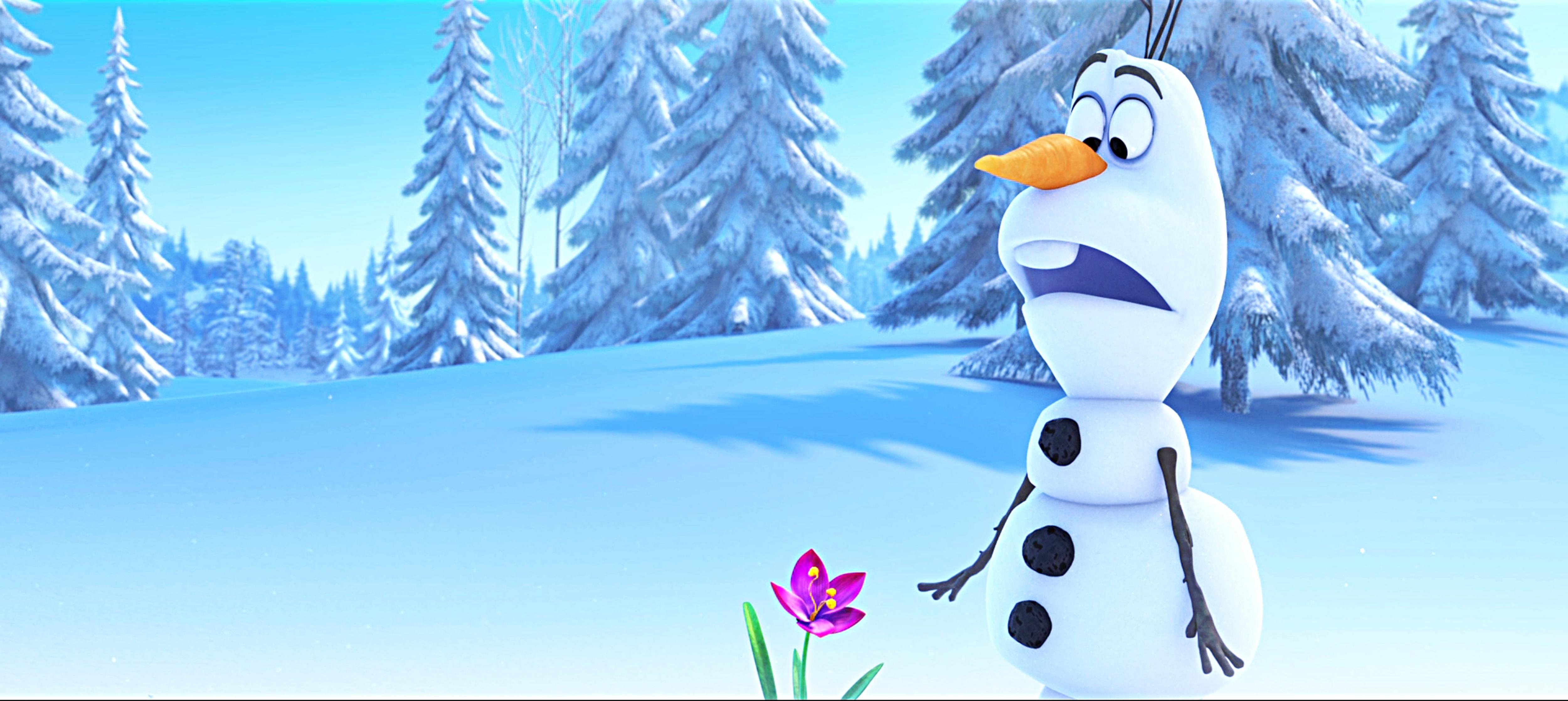Walt Disney Characters Walt Disney Screencaps   Olaf 5000x2234