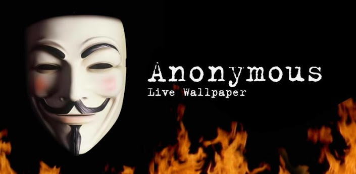 Anonymous Live Wallpaper 705x345