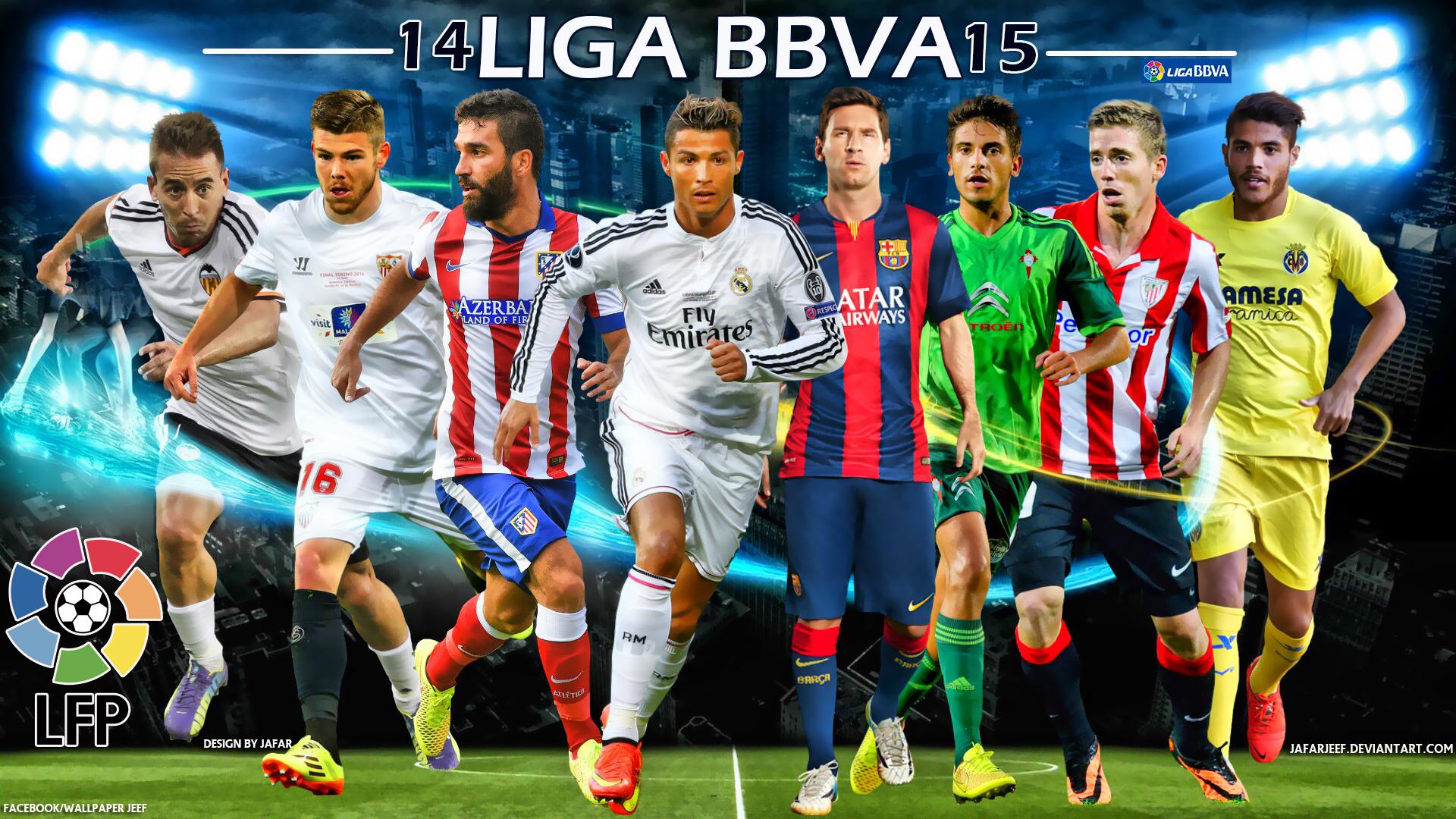Liga BBVA 2014 2015 Football Stars Wallpaper PlusFutboles 1920x1080