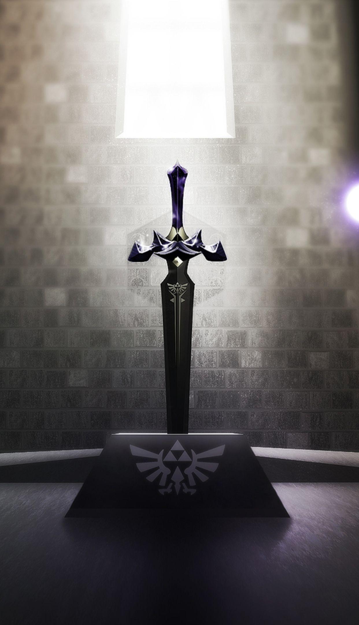 Download Master Sword Wallpaper Gallery 1242x2160