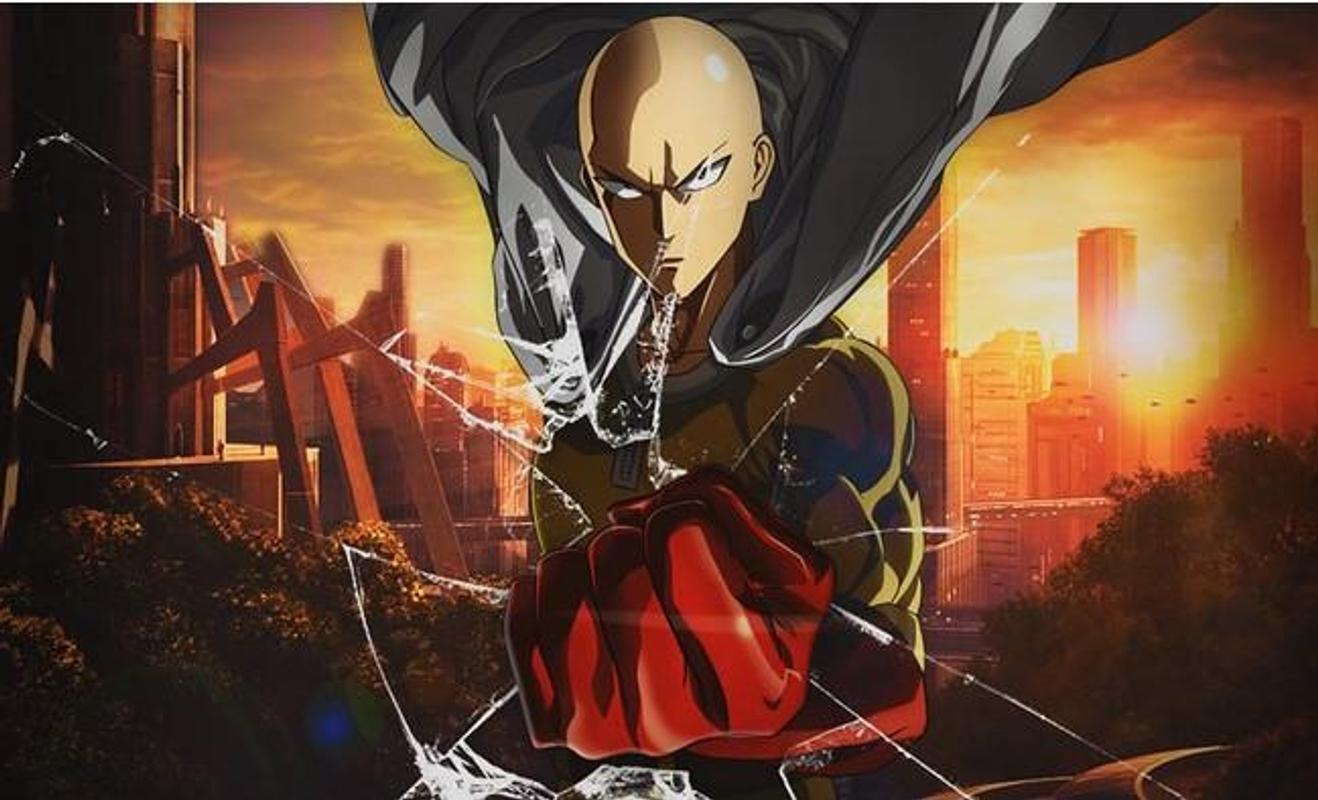 Free Download One Punch Man Wallpaper For Android Apk