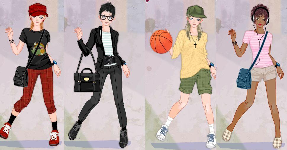 Tomboy girl dress up game by Pichichama 970x507