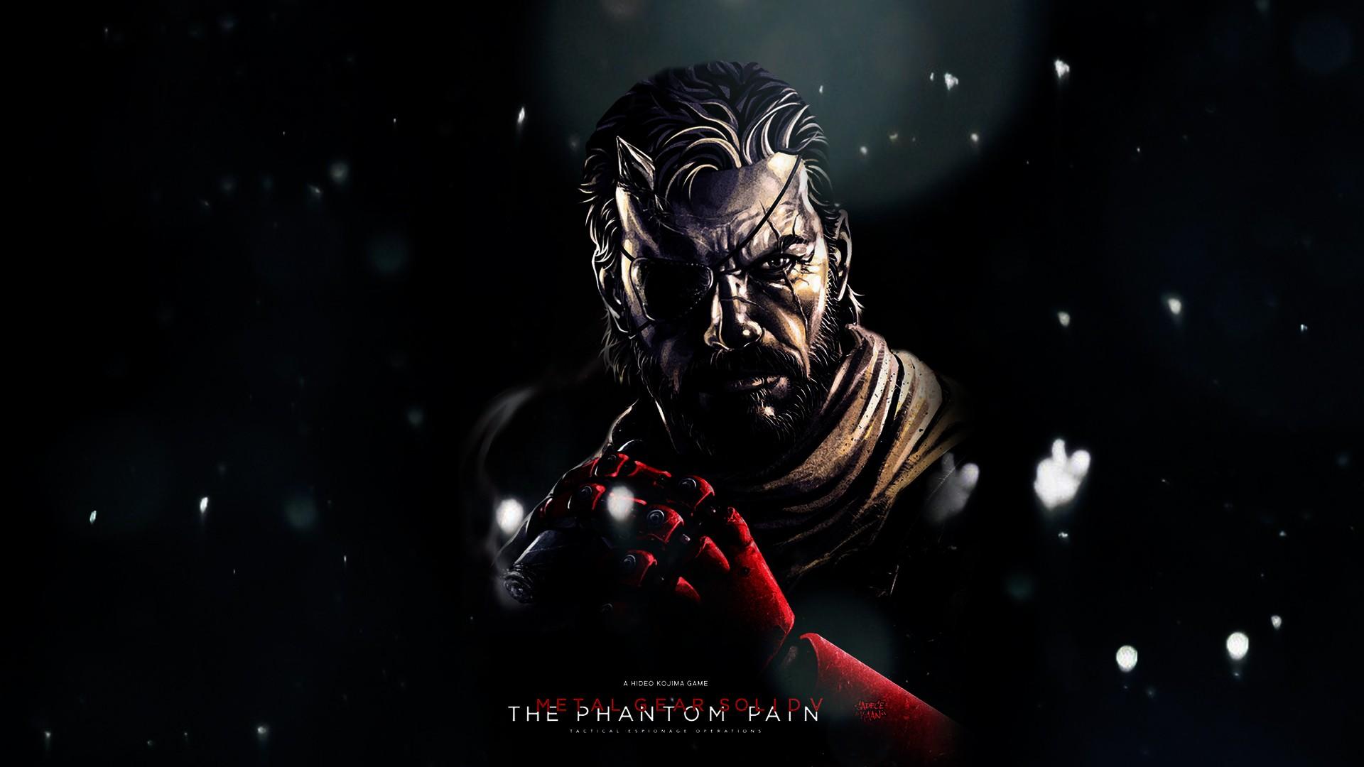 Free Download Big Boss Metal Gear Metal Gear Solid V The Phantom
