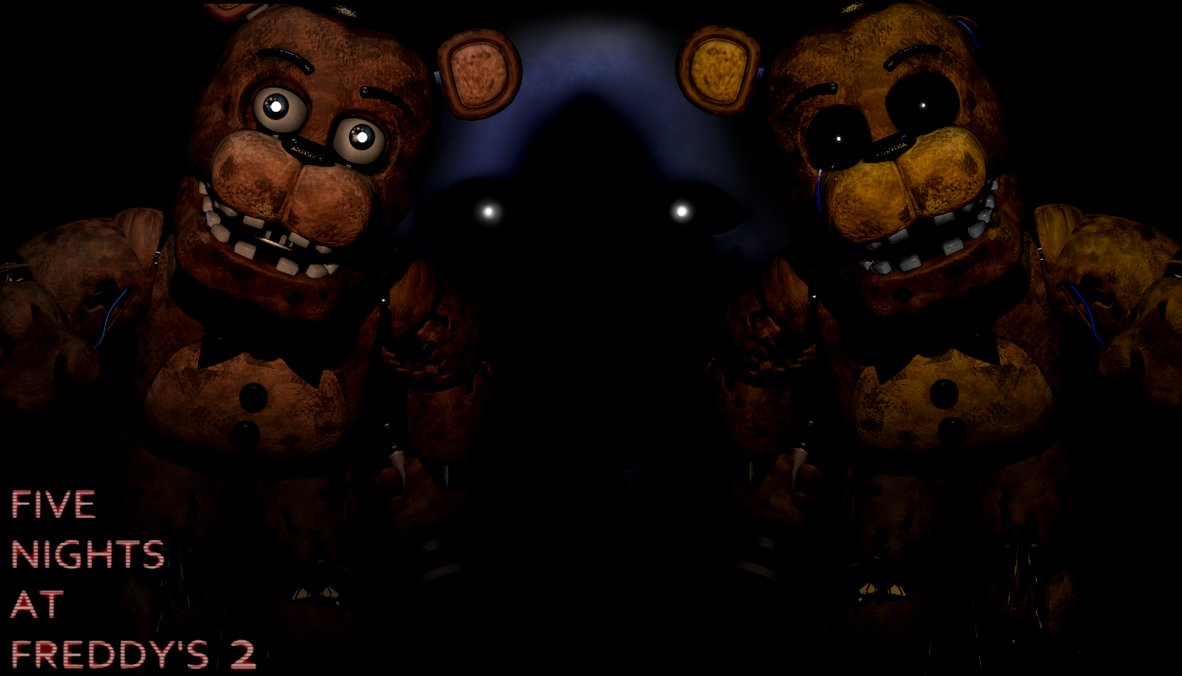 FNaF 2 Wallpaper   Ready for Freddys by PeterPack 1182x676