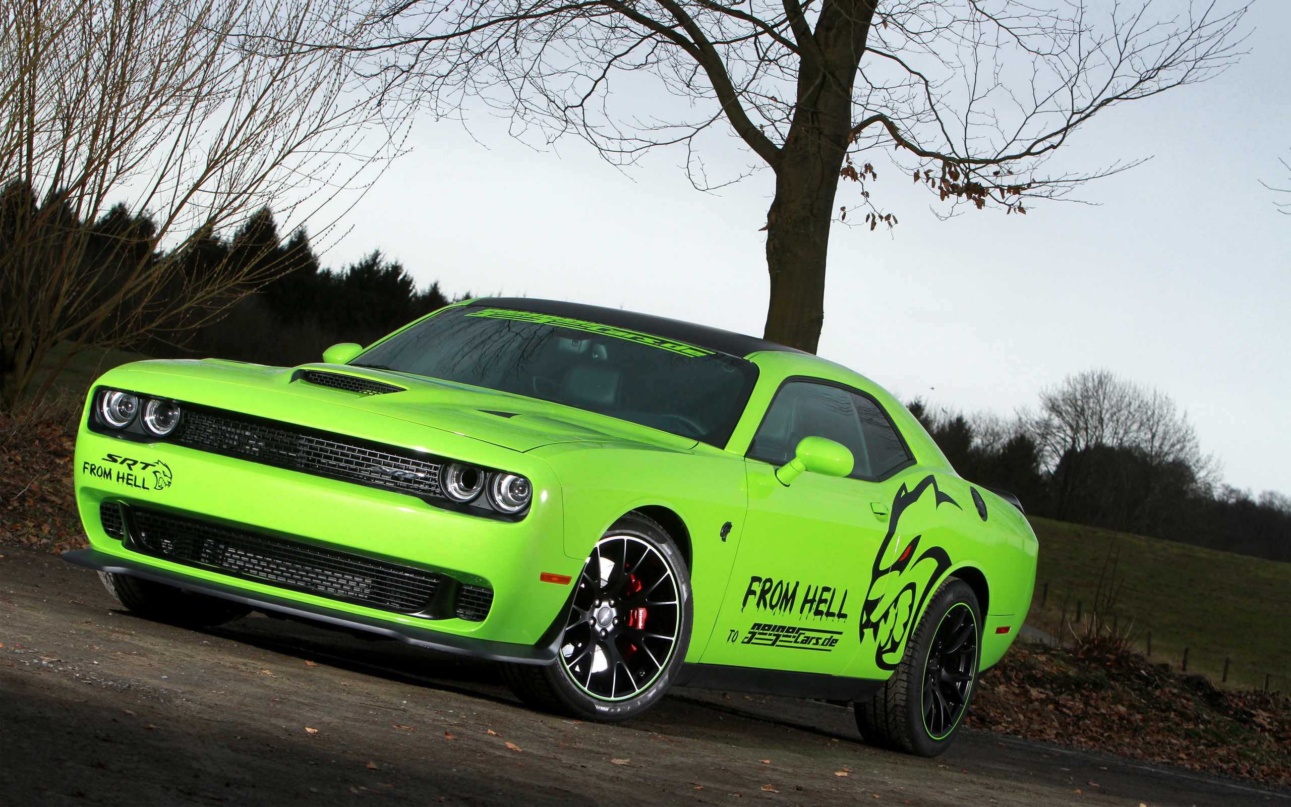 2015 Geigercars Dodge Challenger SRT Hellcat Wallpaper HD Car 2560x1600