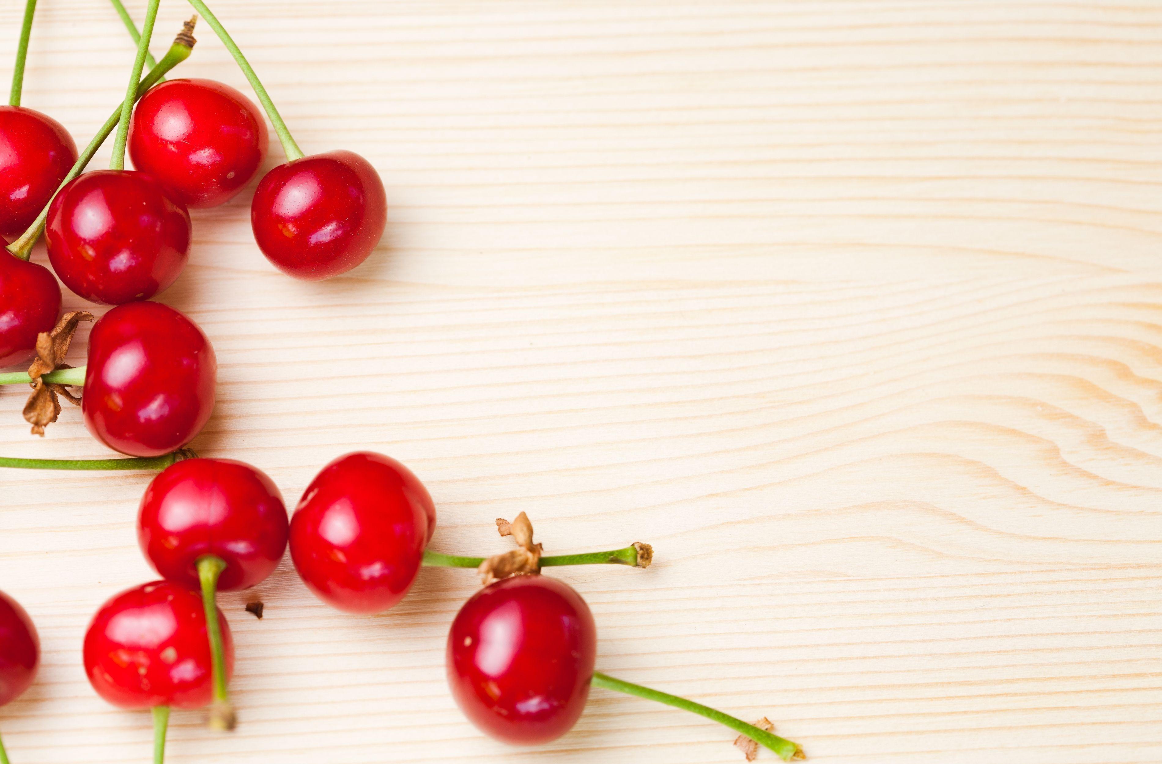 cherry fresh texture image background food wallpaper 3800x2500