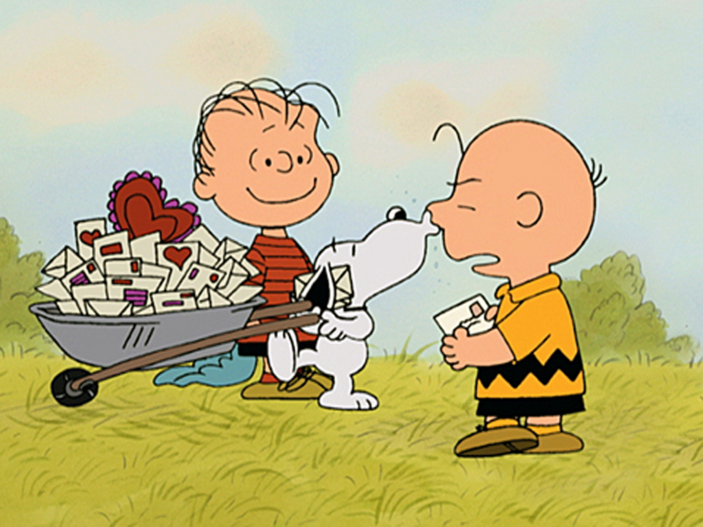 charlie brown valentine wallpaper normaljpg 1024x768