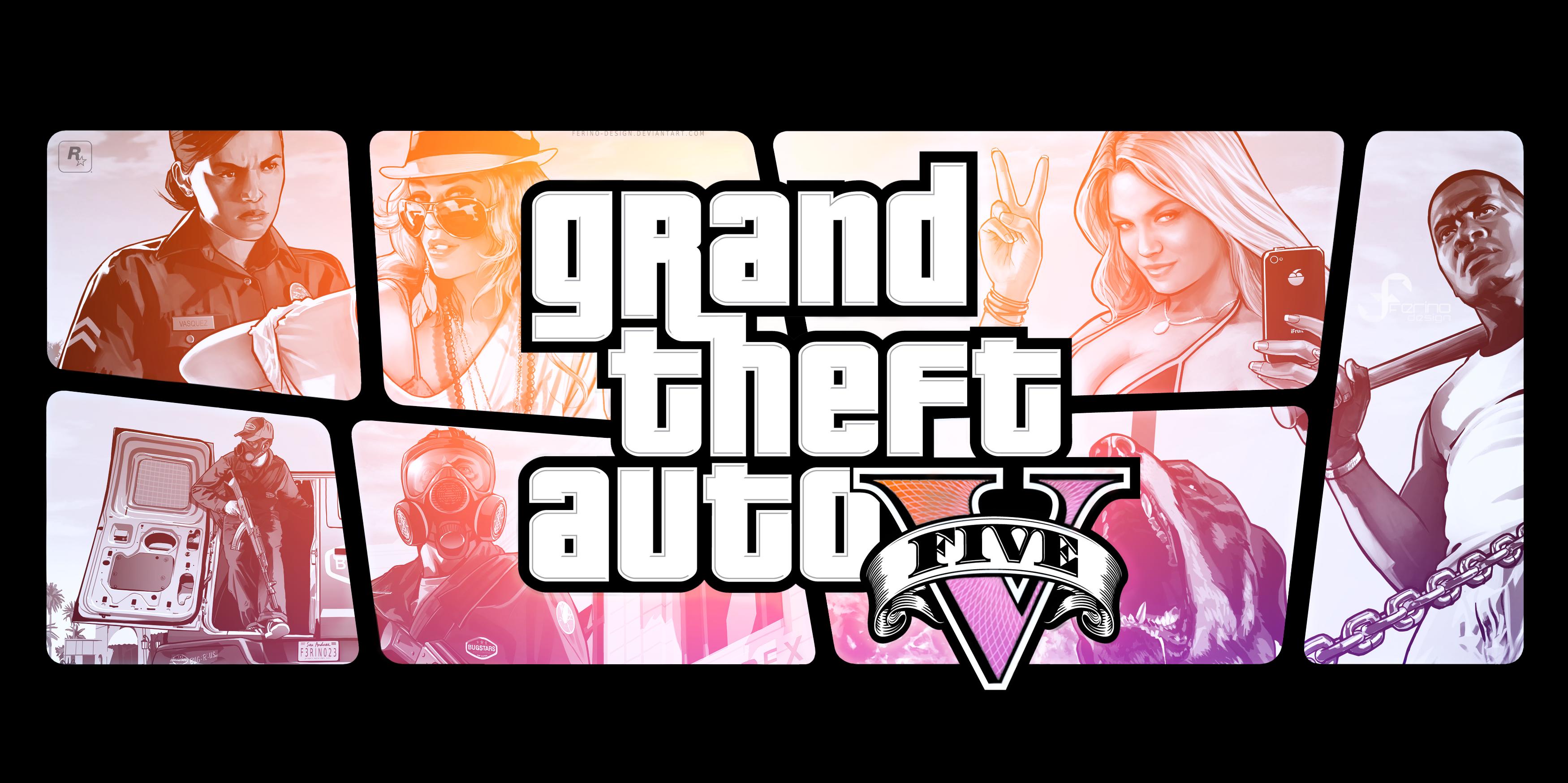Liberty City Survivor GTA V Wallpapers 3500x1747