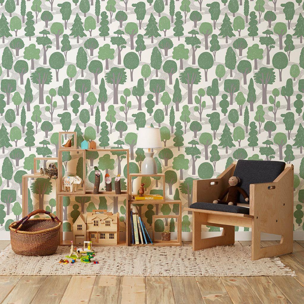 makelike a shop Zig Zag Green makelike wallpaper Zig zag 1024x1024