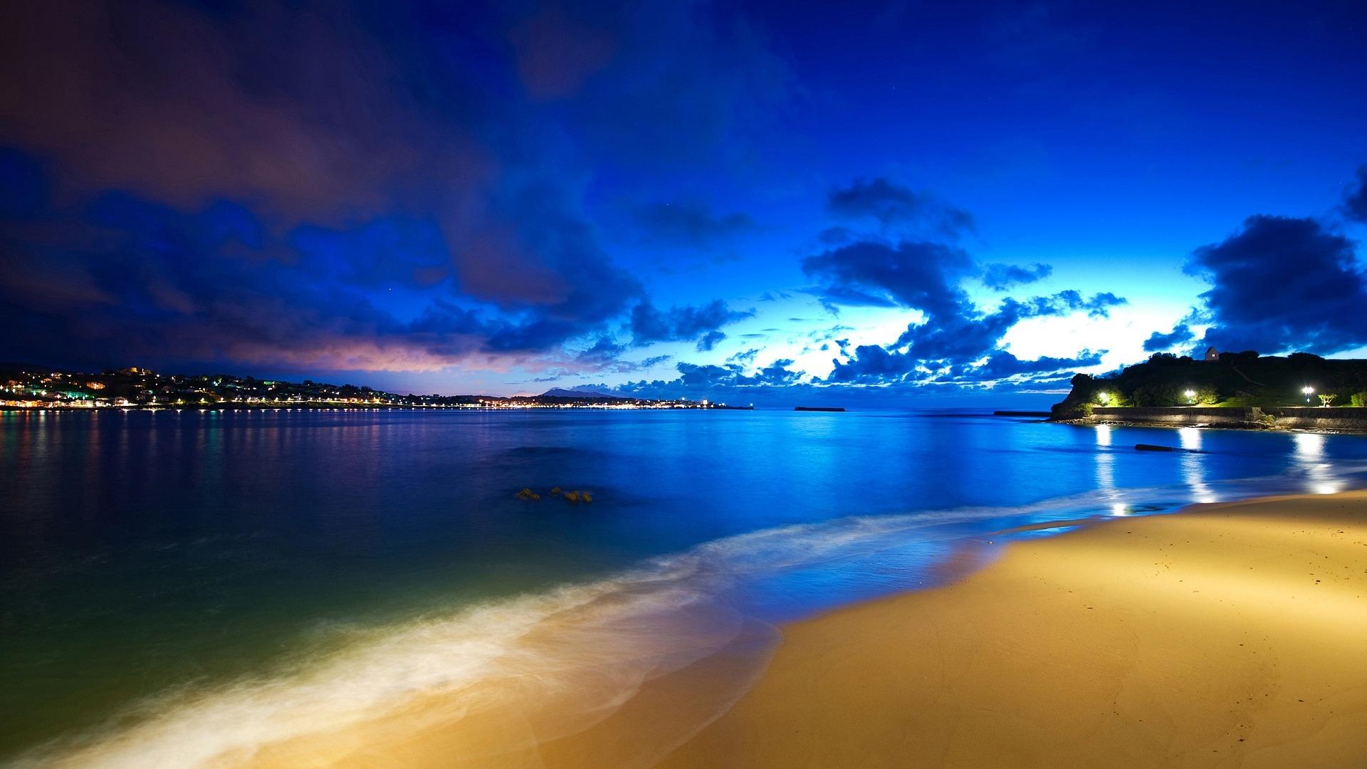 Cool Pictures Nature Beach HD Wallpaper of Beach   hdwallpaper2013com 1920x1080
