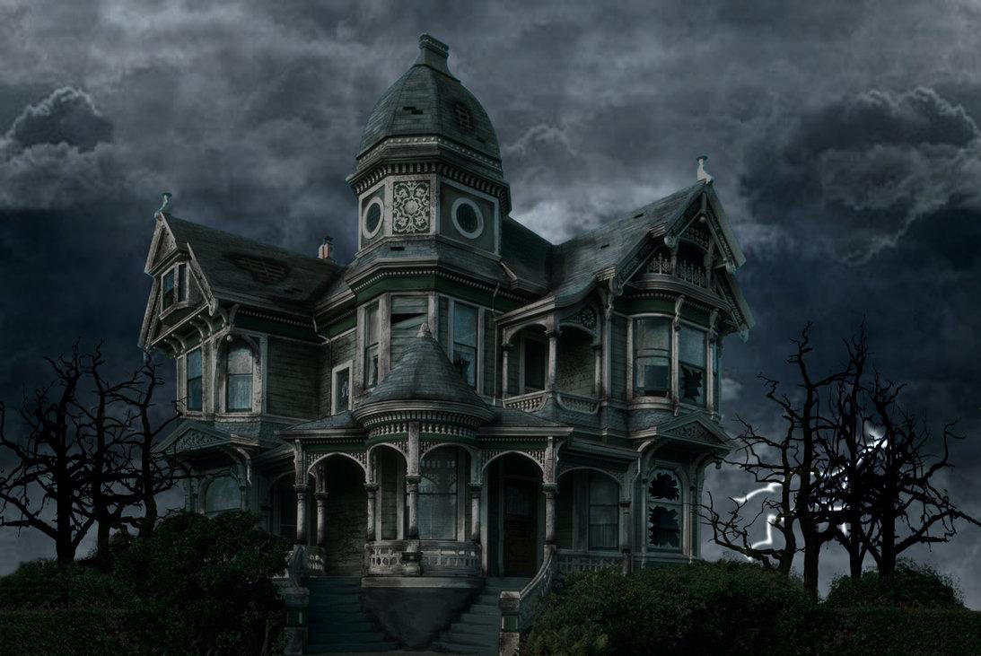 Haunted House Wallpaper 1093 X 731 284721 HD Wallpaper Res 1093x731