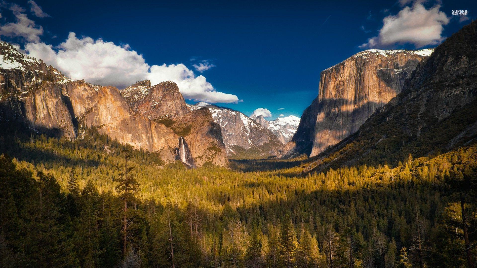 Yosemite Mountain Landscape Wallpaper HD 9 High Resolution Wallpaper 1920x1080