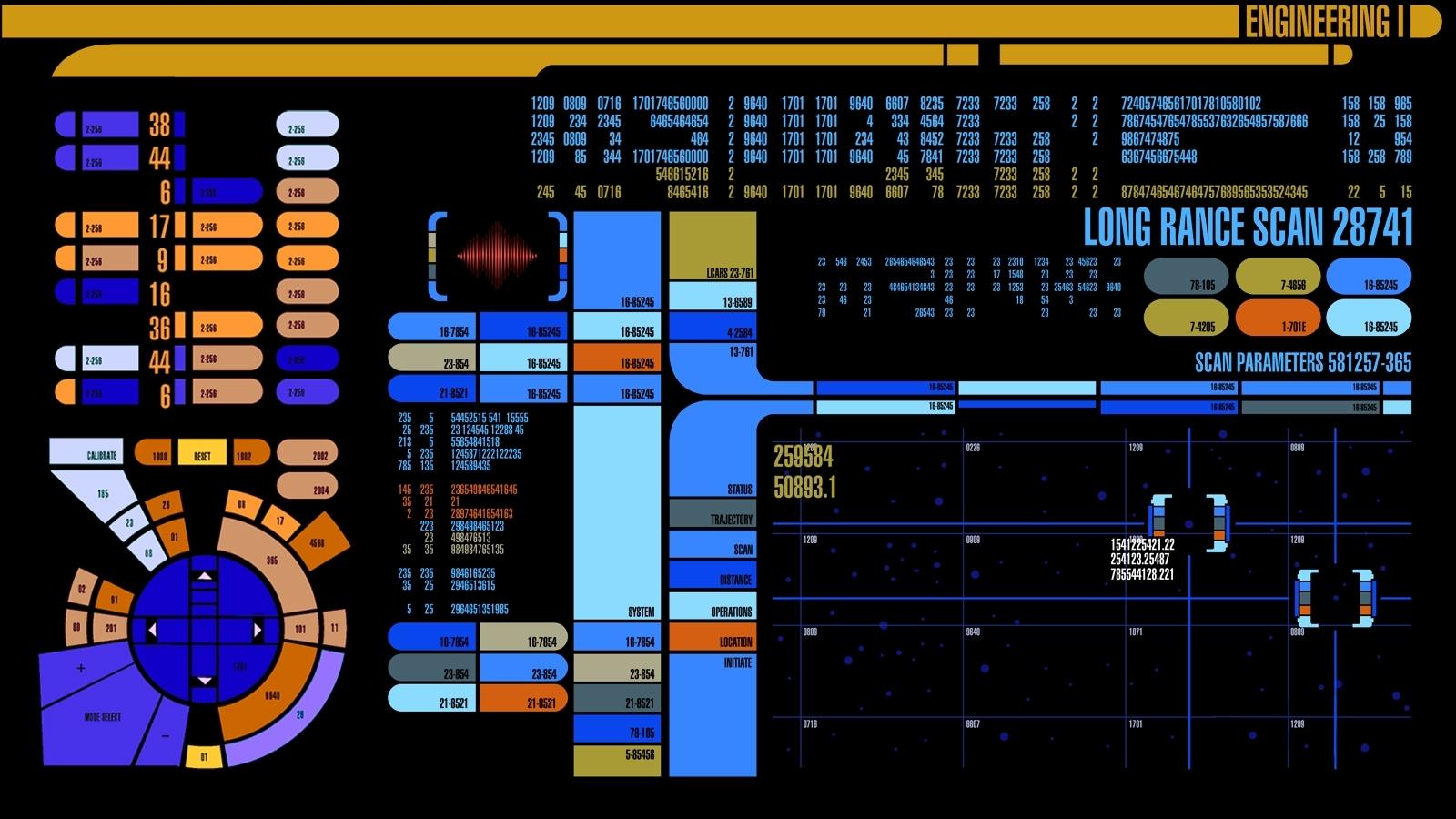 star trek control lcars starship 1600x900 wallpaper Wallpaper 1600x900