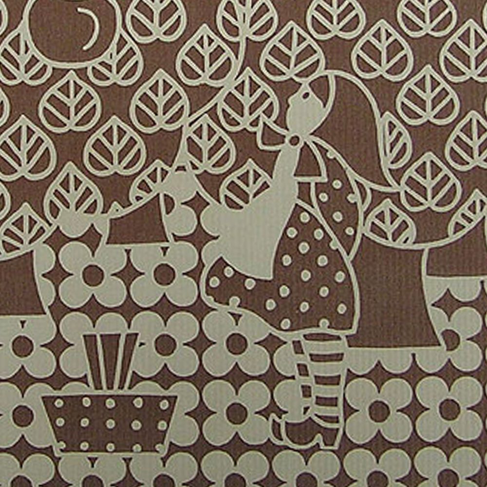MID CENTURY Modern Brown Geometric Novelty Wallpaper 1960s 70s eBay 1000x1000