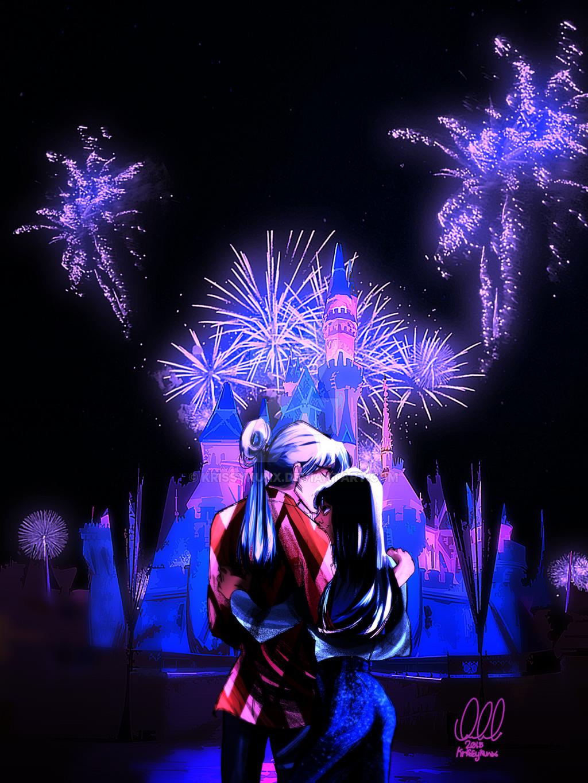 Disneyland 60th Celebration by KrissyKunx 1024x1365
