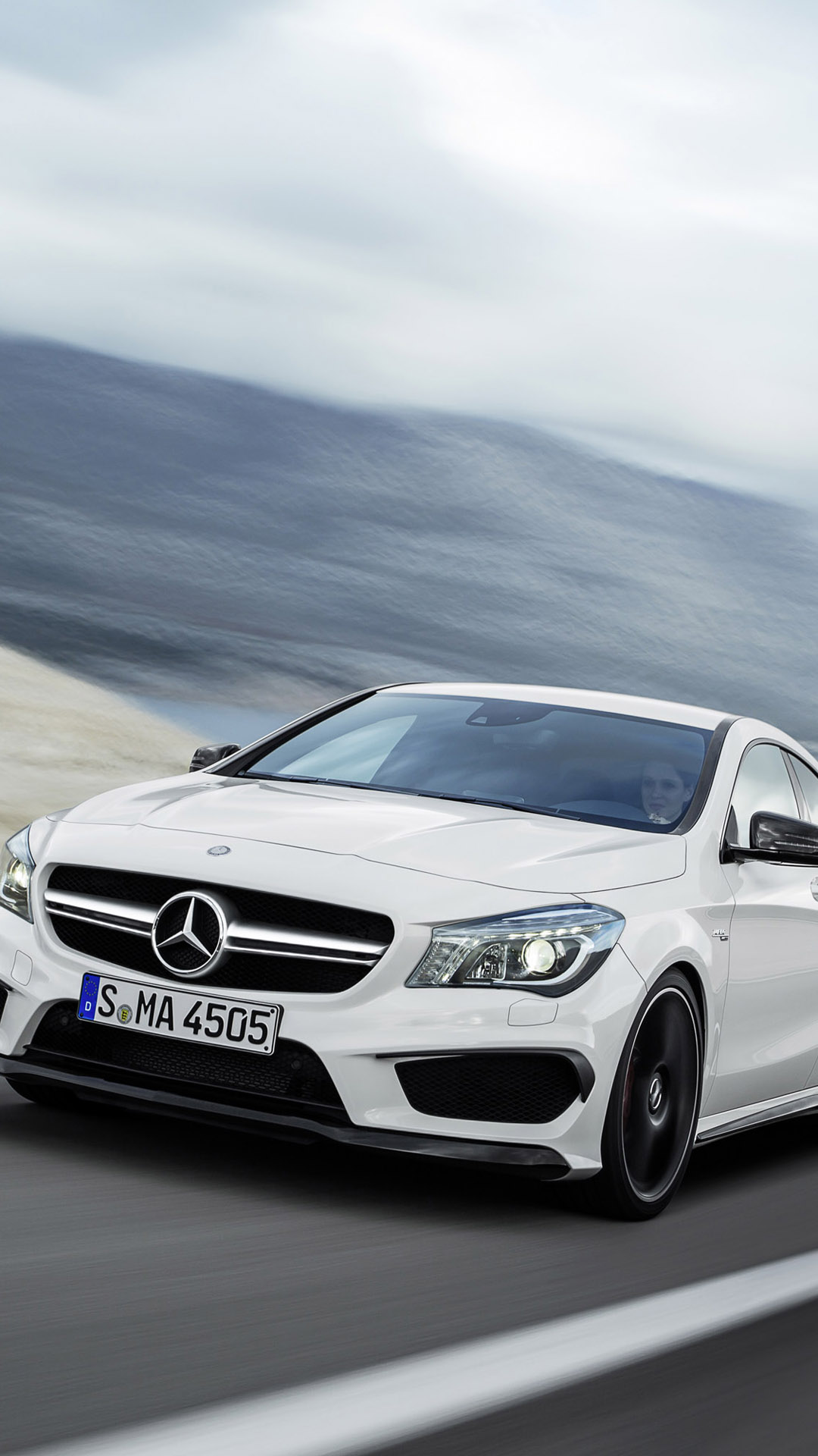 Mercedes Benz CLA 45 AMG   Best htc one wallpapers and easy 1080x1920