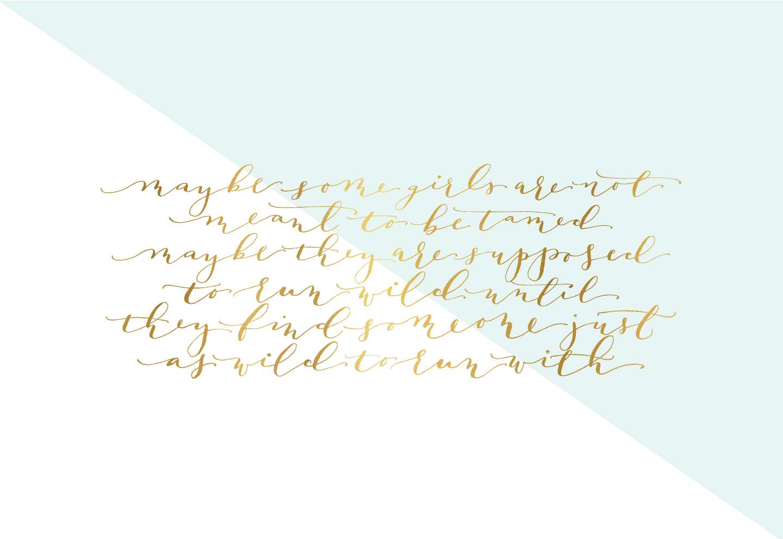 Calligraphy Desktop Wallpaper lark linen 1440x990