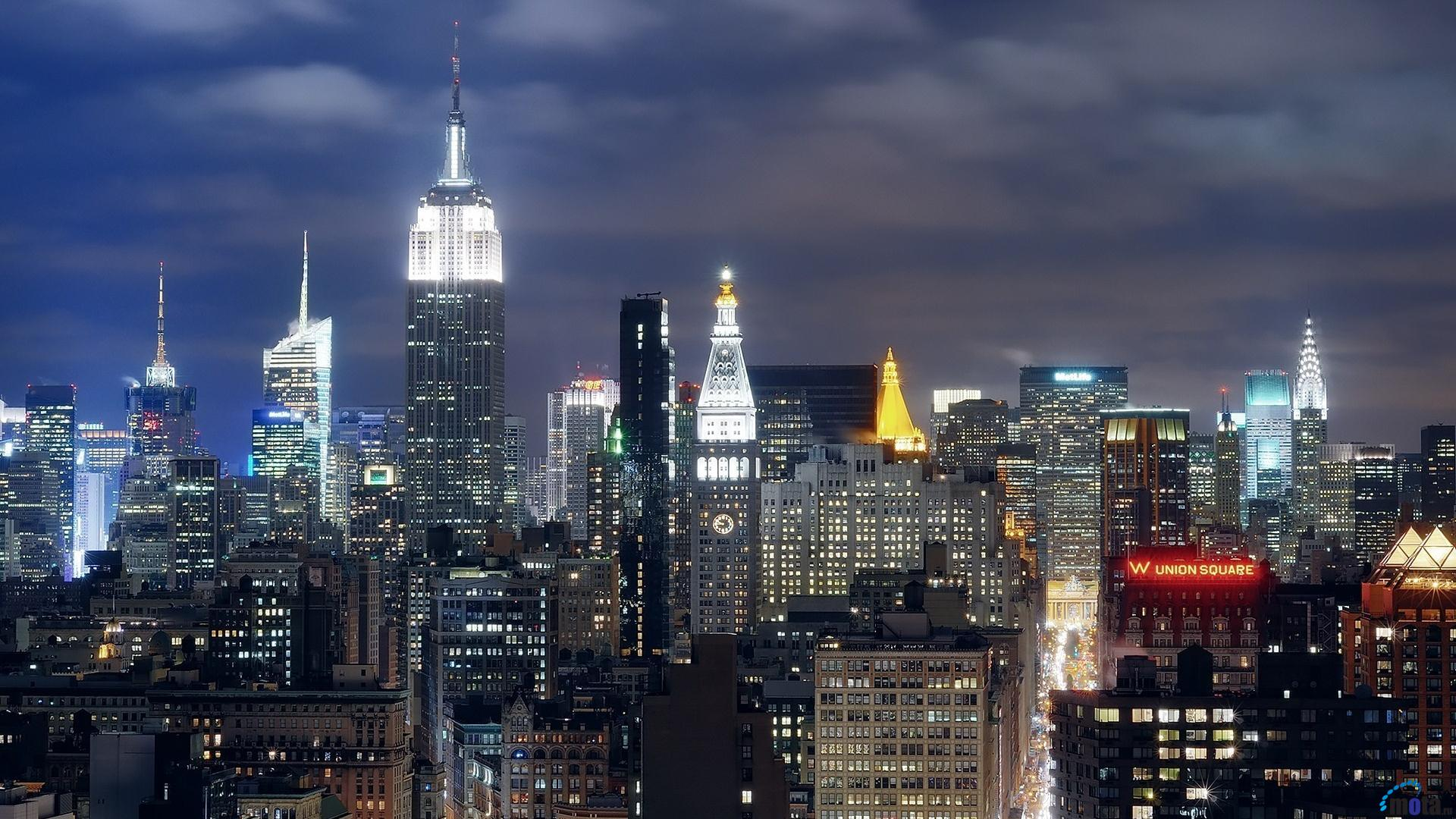 Download Wallpaper Empire State Building 1920 x 1080 HDTV 1920x1080