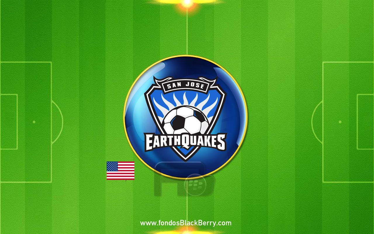 San Jose Earthquakes Logo Futbol Estados Unidos USA MLS Soccer 1280x800
