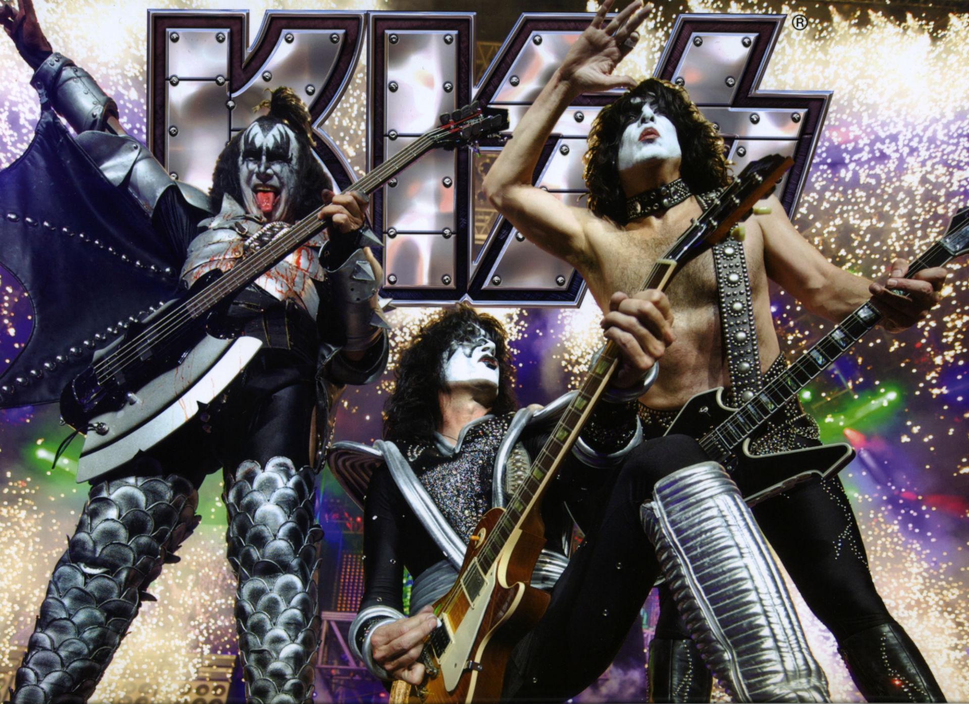 Kiss Band Cartoon Wallpaper Kiss Heavy Metal Rock Bands 1920x1395