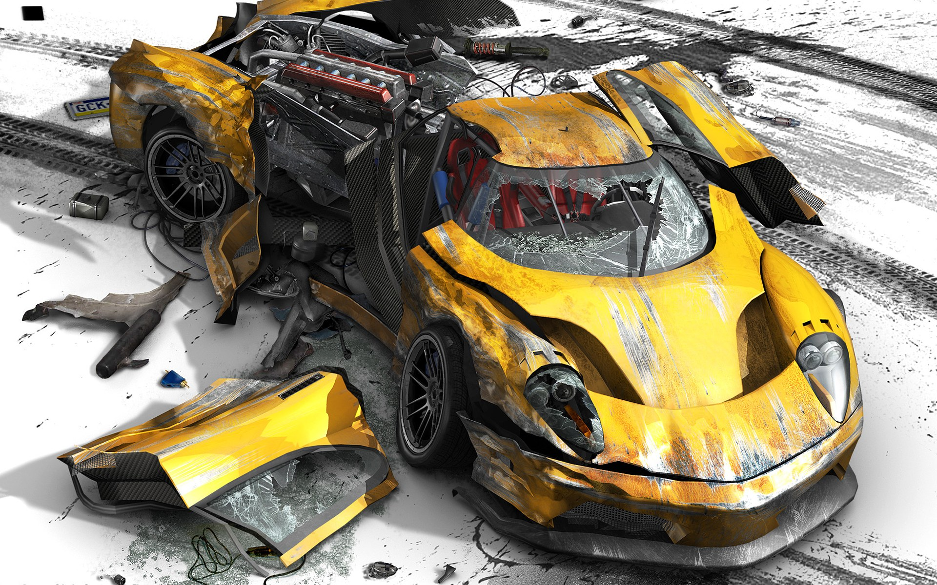 Car Crash Wallpapers High Resolution HD Video Games Wallpapers 1920x1200